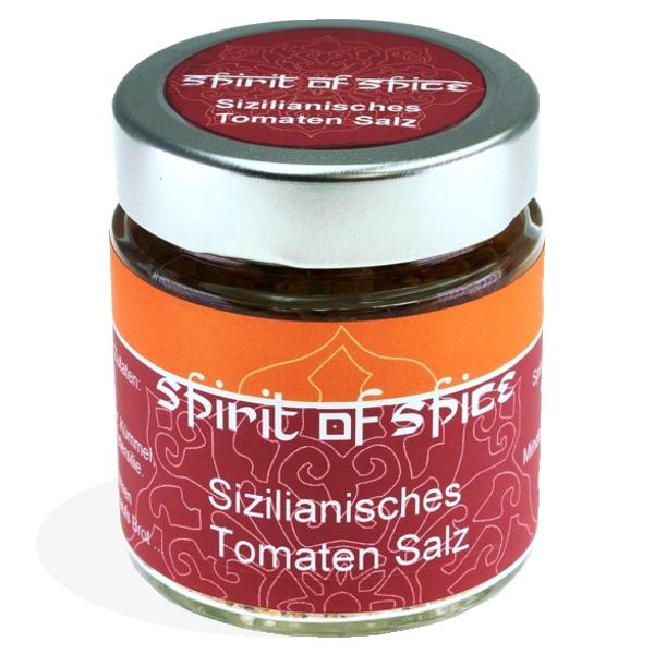 """Gewürzgläschen """"Sizilianisches Tomaten Salz"""""""