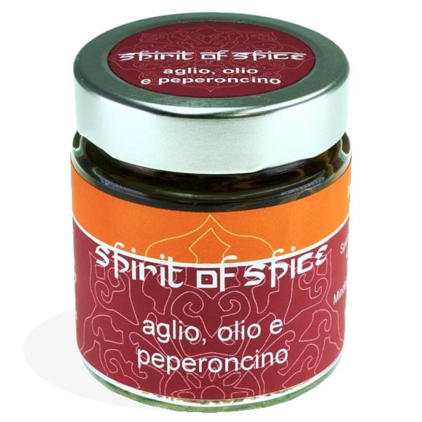 """Gewürzgläschen """"Aglio, Olio e Peperoncino"""""""