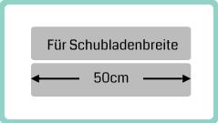 Schubladenbreite 50